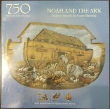 "Bits & Pieces Shaped 750 Piece Puzzle - Noah and the Ark New & Sealed 20"" X 27"""