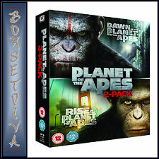 DAWN OF THE PLANET OF THE APES & RISE OF THE PLANET OF THE APES **NEW BLU-RAY**