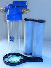 Koi Pond Water Filter For Fish Pond Dechlorinator Chlorine Removal  2 Filters K1