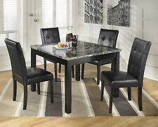 Ashley D154-225 Maysville Square Dining Room Table And Chair 5 Pc Set