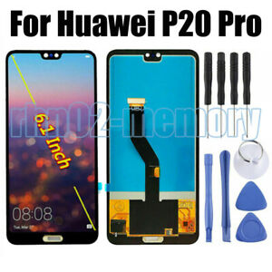 For Huawei P20 Pro LCD Display Touch Screen Digitizer Assembly Replacement RH