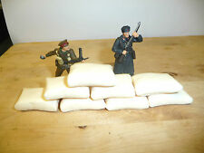 1/32 SCALE RESIN SMOOTH MEALIE BAGS /DEFENCE SACKS/ LARGE SANDBAGS FOR DIORAMAS
