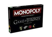 Monopoly Game of Thrones Collector's Edition Spiel Brettspiel Englisch