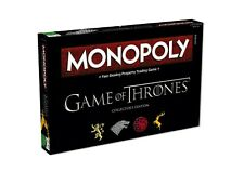 Monopoly Game of Thrones Collector's Edition Game Board Game English