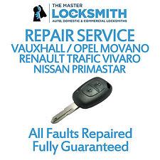 Repair Service For Renault Trafic Vivaro, Nissan Primastar, Opel Movano
