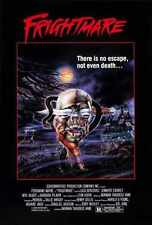 Frightmare 1983 Poster 02 A3 Box Canvas Print