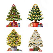 100 Gift Card of Die-cut Christmas Tree by Courtier XG0020