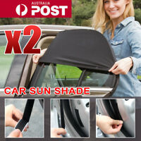 2x Universal Sun Shades Rear Side Seat Car Window Socks Baby Kids Protection