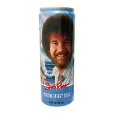 Bob Ross The Joy of Painting Positive Energy Drink 12 ounce Can NEW UNOPENED