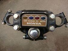 1975 Honda CB550K Complete TRIPLE TREE  w INDICATOR PANEL cb-550k CB500