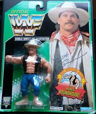 Figura WWF Hasbro Bart Gunn Series 11 Tarjeta Verde MOC