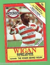 #D212. GREAT BRITAIN RUGBY LEAGUE PROGRAM - WIGAN V ST HELENS 12th April  1989