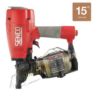 SENCO SCN49XP Nail Gun,120 psi,Siding Nail
