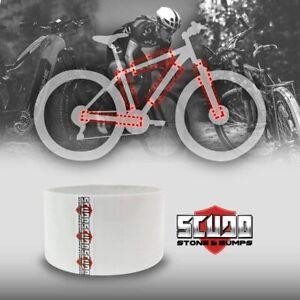 Rotolo Nastro Adesivo per Protezione Telaio Bicicletta 5 cm x 3 mt, Spessore 0,3