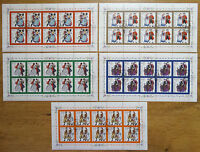 Bund 1757 - 1761 KB gestempelt ESST Bonn BRD Kleinbogen Zehnerbogen 10 er Bogen