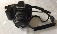 Minolta Maxxum 5000i Promaster Spectrum 7 SLR 35MM Camera             #1217
