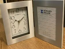 Howard Miller Lewiston 4x6 Photo Picture Frame Clock 645-677