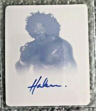 2014 Leaf Originals Wrestling Haku Magenta Printing Plate 1/1 Auto Autograph WCW