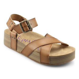 Blowfish Malibu Makara Women's Vegan Platform Sandal Shoes