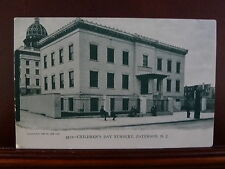 Paterson NJ Children's Day Nursery Green-Tint UDB Unposted 1901 - 1907