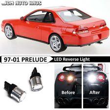 White High Power 7440 Reverse Backup LED Light Bulb Fits Honda Prelude 1997-2001