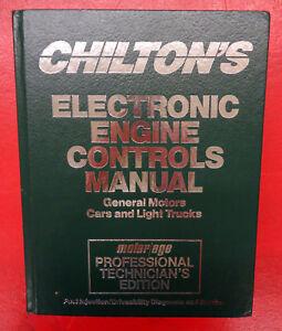 Chilton's Engine Controls General Motors Service Repair Manual 1990-1992