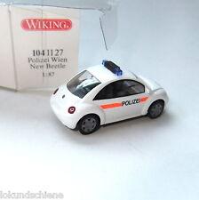 Polizei Wien New Beetle   Wiking HO 1:87 #113