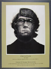 2000 Chuck Close Keith, 1972 mezzotint Craig F. Starr vintage print Ad