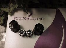 YOUNG LIVING Essential Oils AROMAGLIDE  fits 5 & 15ml bottles  2 Roll-on Balls