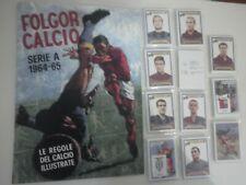 Album + Set Figurine calciatori FOLGORE Campionato 1964/65  Anastatica Repro
