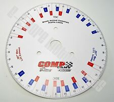 Comp Cams Degree Wheel DECAL for Briggs World Formula Animal Racing Engines WKA