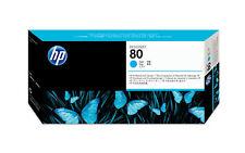 Cartucho HP cabezal limpiador cian 80
