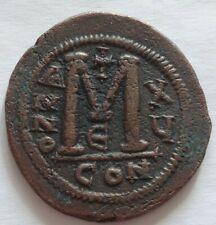 More details for justinian i. 527-565. Æ 40 nummi – follis. constantinople mint. a411v