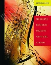 Modeling Business Objects with XML Schema (The Morgan Kaufmann Series in