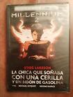 MILLENNIUM 2 LA CHICA QUE SOÑABA CON UNA CERILLA DVD SLIM ESPAÑOL SUECO NUEVA