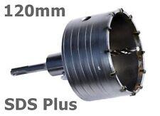 SDS Plus 120 mm Bohrkrone Dosenbohrer Lochbohrer Kernbohrer  mit Bohrer