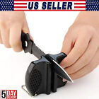 Mini Ceramic Rod Knife Sharpener Two-stage Tungsten Portable Butterfly Type