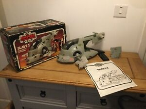 Vintage Star Wars 1981 Slave 1 100% Complete With Box & Instructions ESB