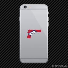 Arkansas Flag 1911AR 2a gun rights molon labe pro Cell Phone Sticker Mobile