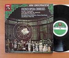 ESD 7158 French Opera Choruses Georges Pretre Paris Opera NM/VG Gatefold