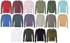 Alternative Apparel Men's Unisex XS-XL 2XL ECO Champ Fleece Crew neck Sweatshirt