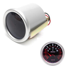 2'' 52mm Universal Car Bright LED Display Turbo Voltmeter Gauge Voltage Meter