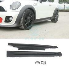 FRP Car Kit Fit For Mini Cooper R56 R57 R58 R59 2006-2013 Works Side Skirt