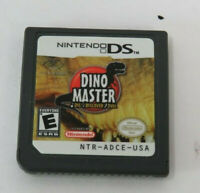 Dino Master: Dig, Discover, Duel (Nintendo DS, 2006) Cartridge Only Works Tested