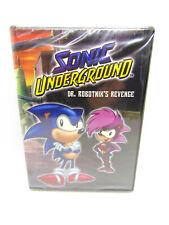 Sonic Underground - DR. ROBOTNIK'S REVENGE (DVD,1998) ANIMATED BRAND NEW, SEALED