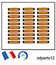 30 x 24V Orange Led Feux De Gabarit Camion Pour DAF MAN SCANIA VOLVO Renault