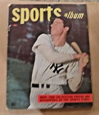 1948 Sports Album Joe Dimaggio New York Yankees