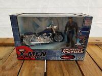 Toy Biz Marvel X-Men The Movie Wolverine Figure with X-Cycle MotorcycleNew G6