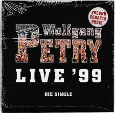 Wolfgang Petry - Live 99 / Die Single    -CD Single-    NEU+OVP/SEALED!