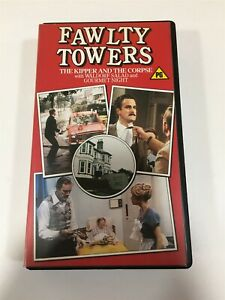 Fawlty Towers The Kipper And The Corpse VHS Tape